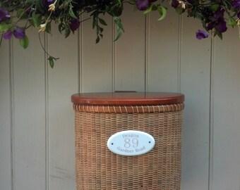 Nantucket Basket Mailbox