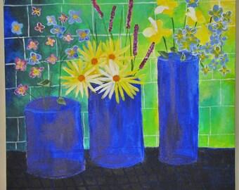 Kitchen Still-life, Acrylic Painting