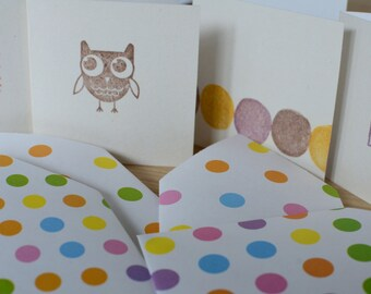 Mini Square Cards with envelopes