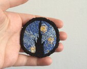 MADE TO ORDER Starry Night Art Patch Vincent van Gogh