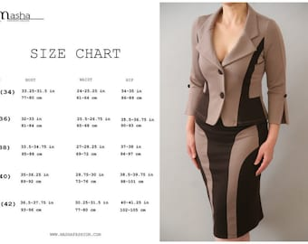 Suits women's clothing/Womens Blazer/Womens Suit/Elegant Womens Suit/Color Block Blazer/Blazers & Suits/Jacket/Pencil Skirts/Womens Clothing