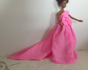 Pink Barbie Doll Dress