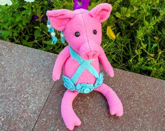 Soft toy pattern Pig sewing pattern Stuffed toy pig Ideas for gifts Gift to Chinese calendar Sewing pig pattern Stuffed toy sewing toy pig