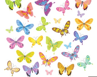 Butterfly Digital Clipart