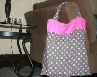 handmade slumber party bag