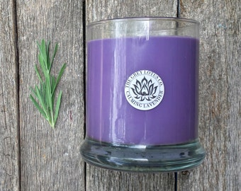Soy Candle, Lavender Candle, Soy Candle, Purple Candle, Candle Gift, Lavender Purple, Natural Candle, Lavender Soy Candle, Aromatherapy