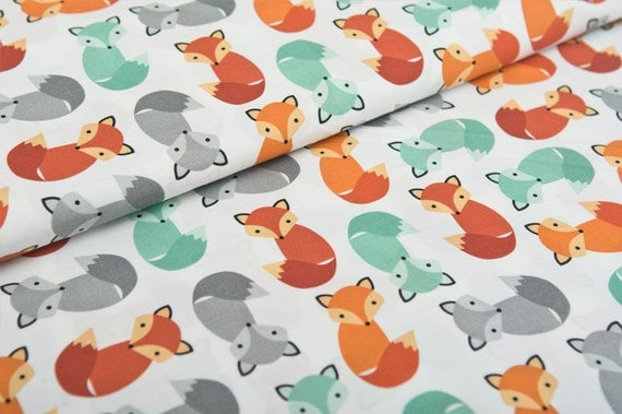 foxes yoga fabric - photo #39