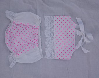Baby girls crop top and Bloomers Set - Various patterns