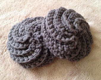 Crocheted kitchen scrubbies. 100% cotton. (Set of 2 for 7 dollars)