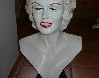 vintage marilyn monroe bust