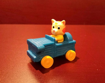 RICHARD SCARRY ' S * Busytown Huckleberry Cat Car 1994