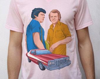 Starsky and Hutch T shirt Design