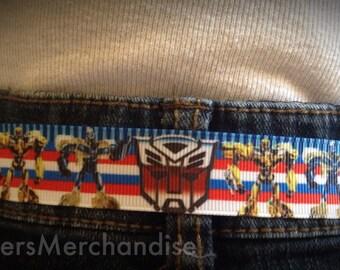 Transformers Velcro belt