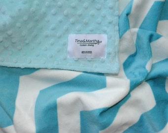 Baby/Toddlers blanket, Boy blanket, Minky Blanket.