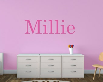 Personalised Name Decal Childs Name Vinyl Wall Stickers