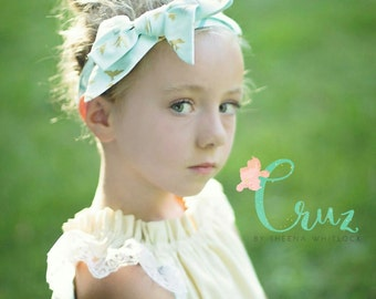 Bow headbands for baby, teen and adult