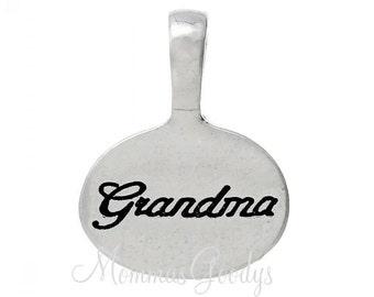 Grandma Dangle Charm Pendant