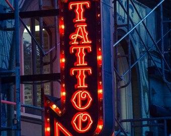Tattoo Sign - art skin ink inked photograph