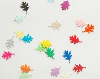 Leaf Confetti - Pick your color. Leaves confetti, fall confetti, wedding confetti, autumn decor. fall party.