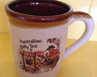 Australian Souvenir Mug 'Billy Tea'