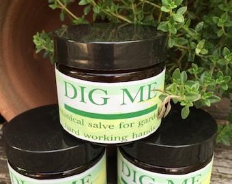 Dig Me. Botanical Gardener's Hand Salve