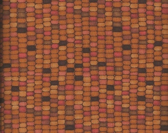 Quilting Cotton Fabric Light Harvest Corn 130970 - 1/2 Yard