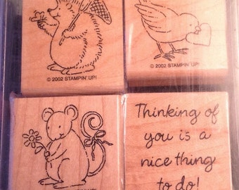 Stampin' Up Cute Critters stamp set - RETIRED