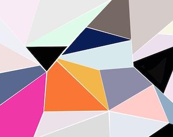 Saturday Geometrics Art Print