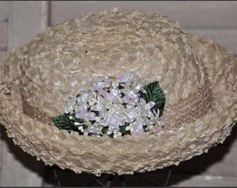 Ivory Bolero Hat, Raffia Straw Hat, Ivory Straw Hat, Ladies Straw Hat, Ladies Ivory Hat, Ivory Raffia Straw Hat, Ivory Bolero
