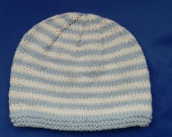 Baby Striped Beanie Hat