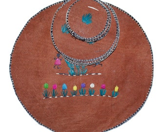 Natural Handmade African Place Setting Coasters Pot Rest