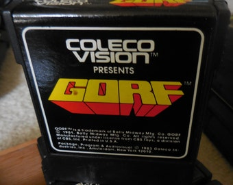 1980's GORF ColecoVision Video Game