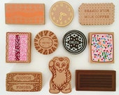 Iconic Aussie Biscuit Cookie Brooches