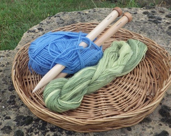 Large/jumbo Wooden Knitting Needles