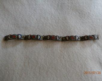 Antique Italian Micro Mosiac Bracelet