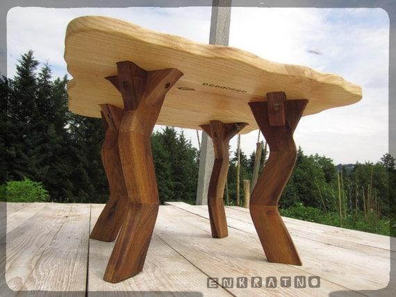 FROG LEGS Hand made wooden legs coffee table furniture ...