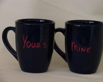 Your's and Mine Mug Set