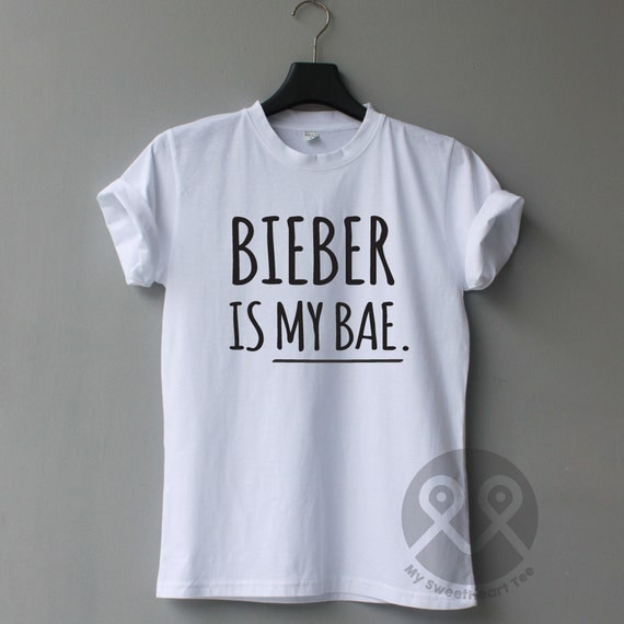 Bieber Is My Bae Justin Bieber Shirts Tumblr By