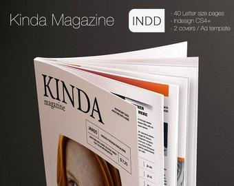 The Kinda Indesign Magazine Template