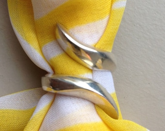 Solid .925 Sterling Silver Ring (Available sizes: 6, 7.5, and 10)