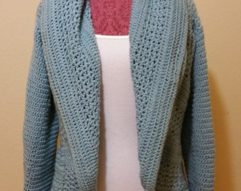 Women's Crochet Cardigan (S)