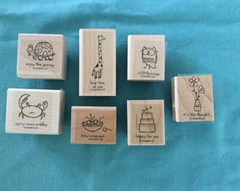 "Stampin' Up ""It's the Thought"" stamp set"
