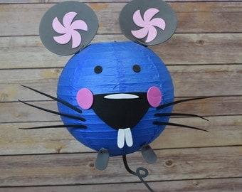 Kid Craft Project Paper Lantern Animal Face DIY Kit