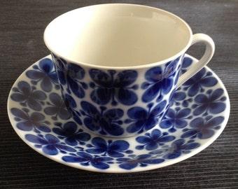 Rörstrand Mon Amie Cup and saucer- Marianne Westman Scandinavian Design