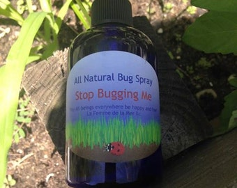 Stop Bugging Me - Essential oil bug repellant