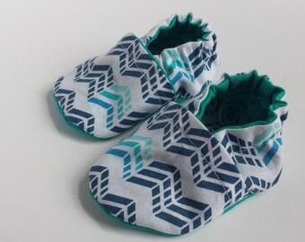 BOGO - code BOGO7 Riptide soft sole shoe,moccasin, crib shoe, baby shoe