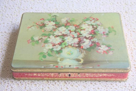 Vintage Tin Chocolate Box Côte d