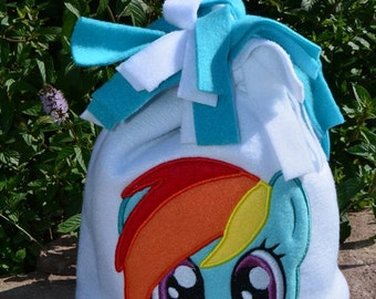 Rainbow Pony Fleece Hat