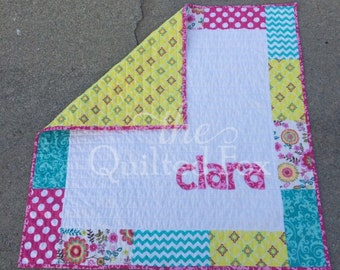 Personalized Baby Name Quilt
