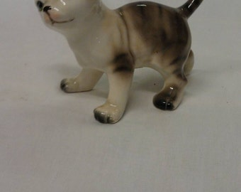 Kitty Cat Porcelain Figurine